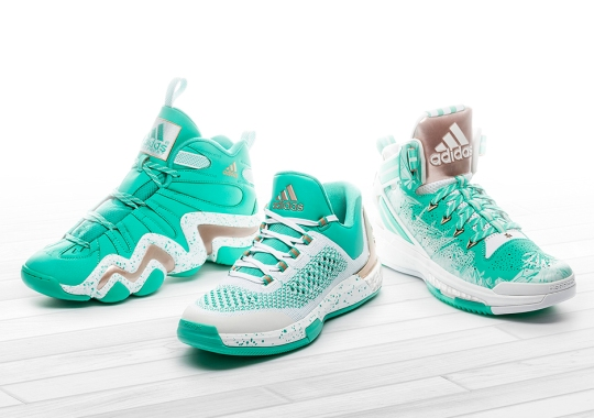 adidas Unveils Their Icy Green 2015 Basketball Collection