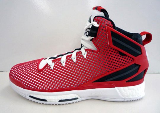 Another Take On Classic Chicago Bulls Colors In The adidas D Rose 6 Boost
