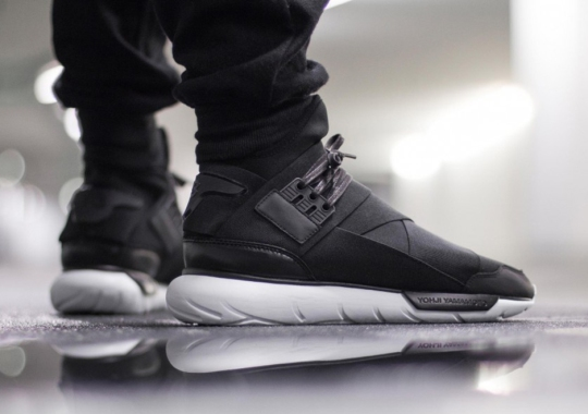 More December Heat: The adidas Y-3 Qasa High In Black/White