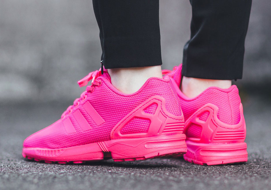 new arrival 300d2 6052c Hot Pink Is A Good Look For The adidas ZX Flux And Tubular ...