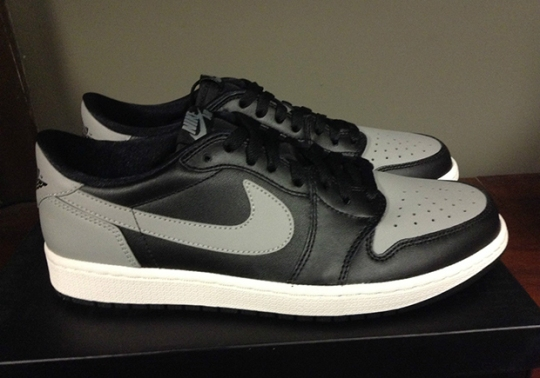 "Air Jordan 1 Low OG ""Shadow"" Is Available Early"