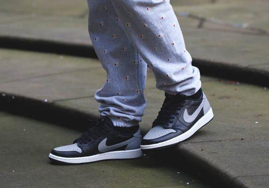 "Jordan Brand Brings Back ""Shadow"" On The Air Jordan 1 Low Retro OG"