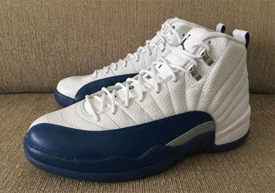 "The Air Jordan 12 ""French Blue"" Releases In March"