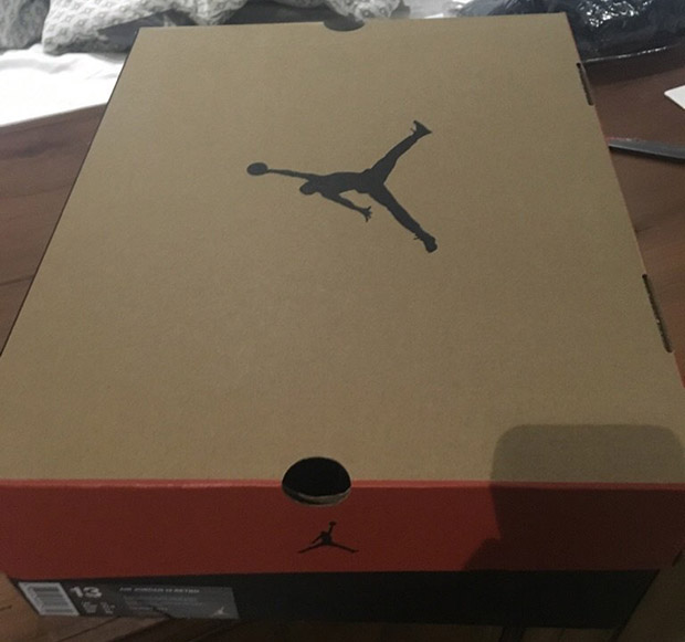 first air jordan shoe box