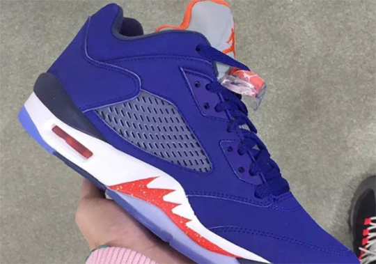 "Air Jordan 5 Low ""Knicks"" Coming In 2016"