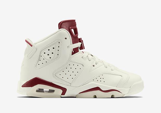 """Air Jordan 6 GS """"Maroon"""""""