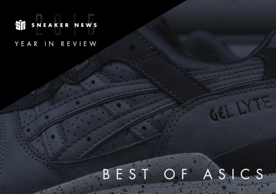 The 10 Best ASICS Releases Of 2015