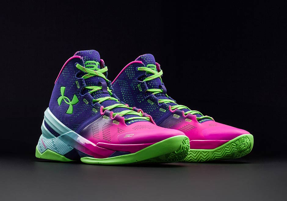 under armour curry 2 all purple