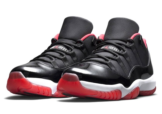 "Air Jordan 11 Low ""Bred"" Restocking On Nikestore"