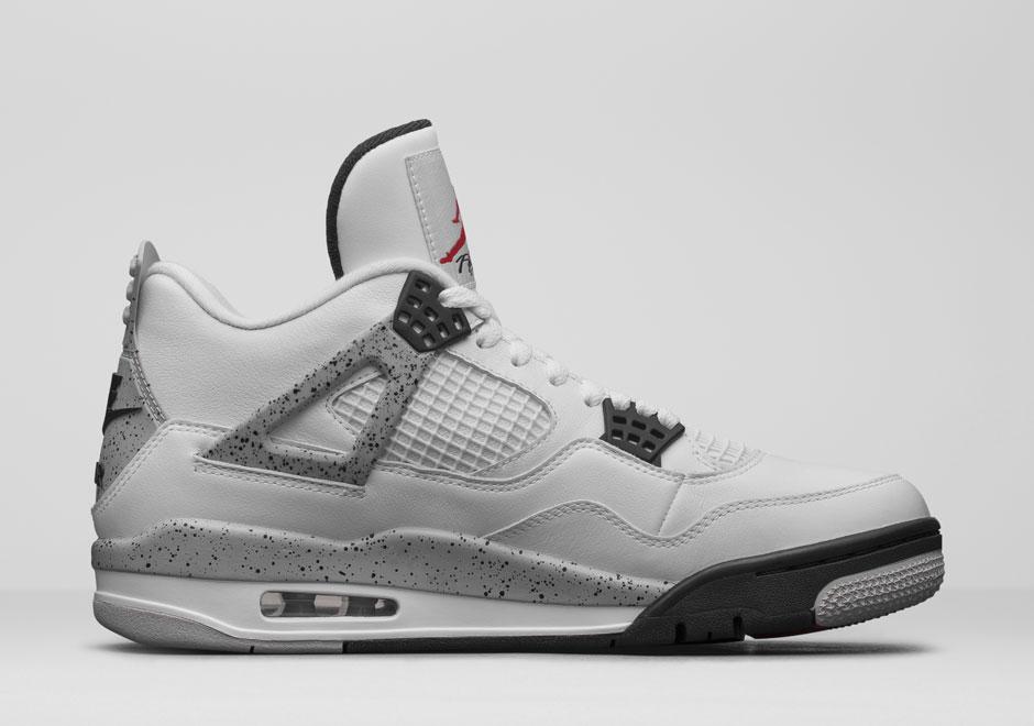 17700344102 Jordan 4 White Cement Nike Air Release Info