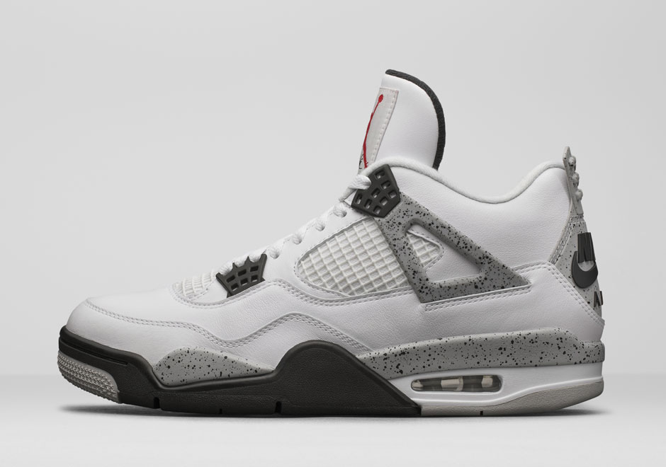 "1bc44b1120949a Jordan Brand Unveils The Air Jordan 4 ""White Cement"" With Nike Air"