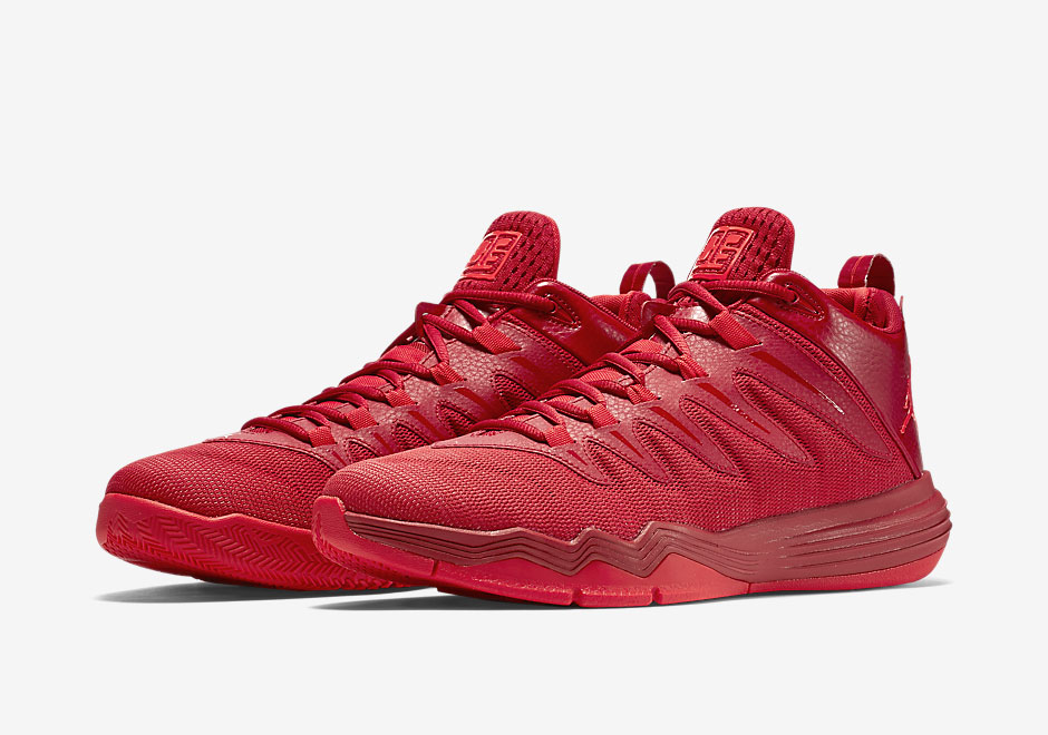 detailed look 2587a 09799 Chris Paul s Jordan CP3.IX Goes All Red For China