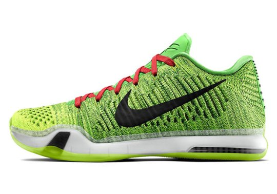 "Nike Brings Back ""Grinch"" With The Kobe 10 Elite iD"