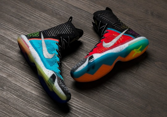 "The Nike Kobe 10 Elite SE ""Multi-Color"" Releases On December 30th"