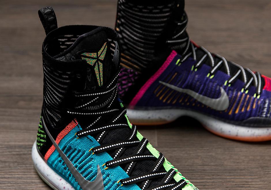 The Nike Kobe 10 Elite SE