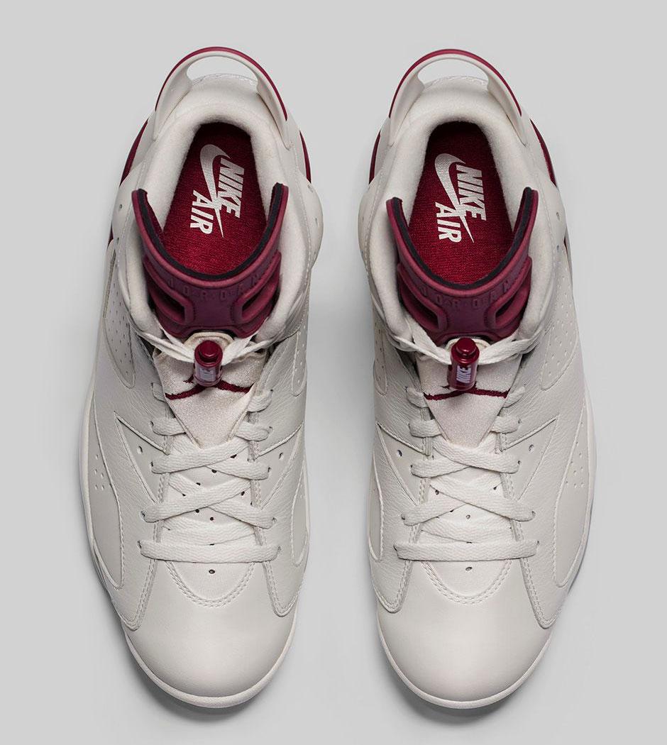 eff6dc891fdd6c Jordan 6 Maroon Photos + Release Date