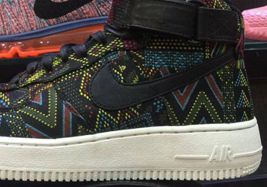 Nike Air Force 1 High Will Celebrate 2016 Black History Month