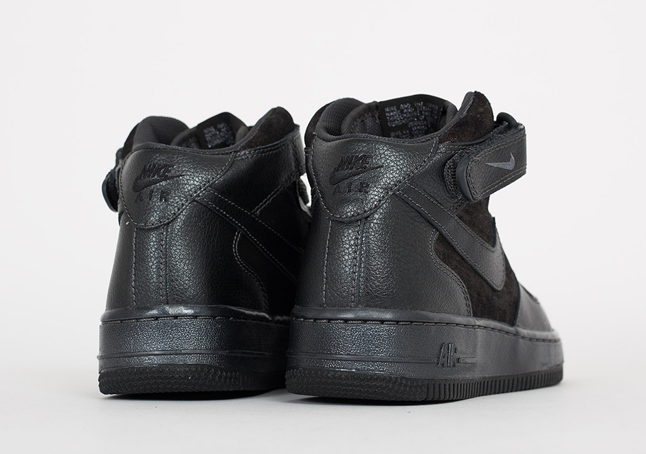 online retailer 0ab8a 4d0f2 ... sale nike wmns air force 1 mid. color metallic hematite black obsidian  style code 805292 ...