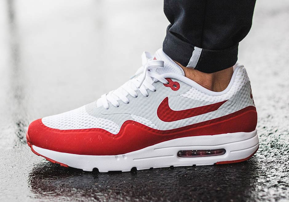 air max 1 in red