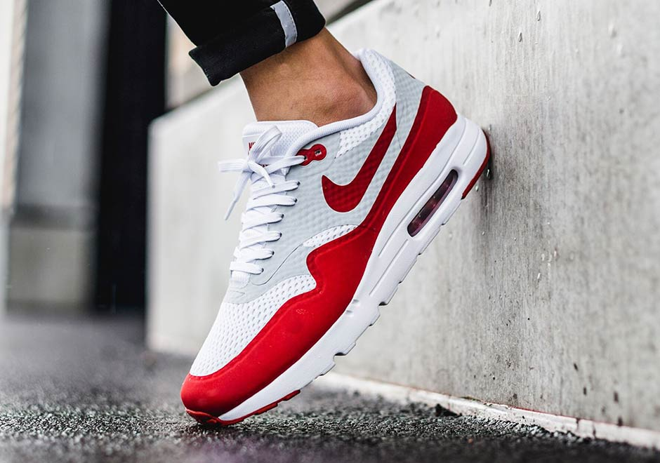 nike air max 1 ultra essential varsity red 6s
