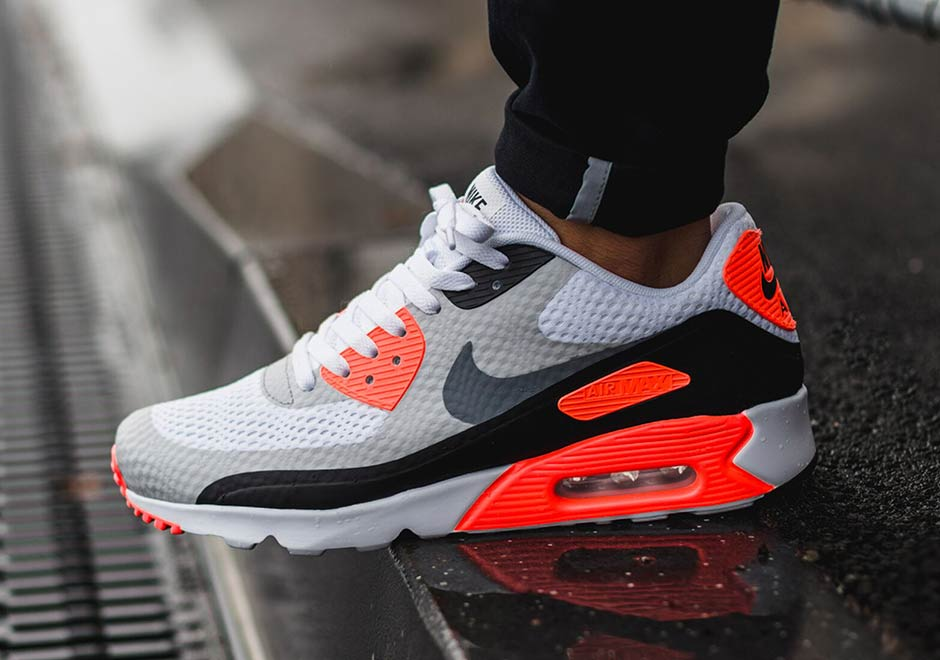 mens nike air max 90 essential infrared