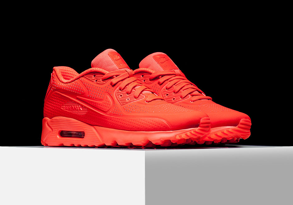 Nike Air Max 90 Ultra Moire Red And