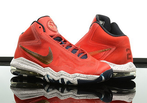 Anthony Davis' Nike Air Max Audacity PE Just Released