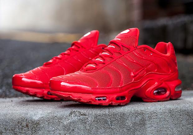 The Nike Air Max Plus In Blazing Hot Red - SneakerNews.com