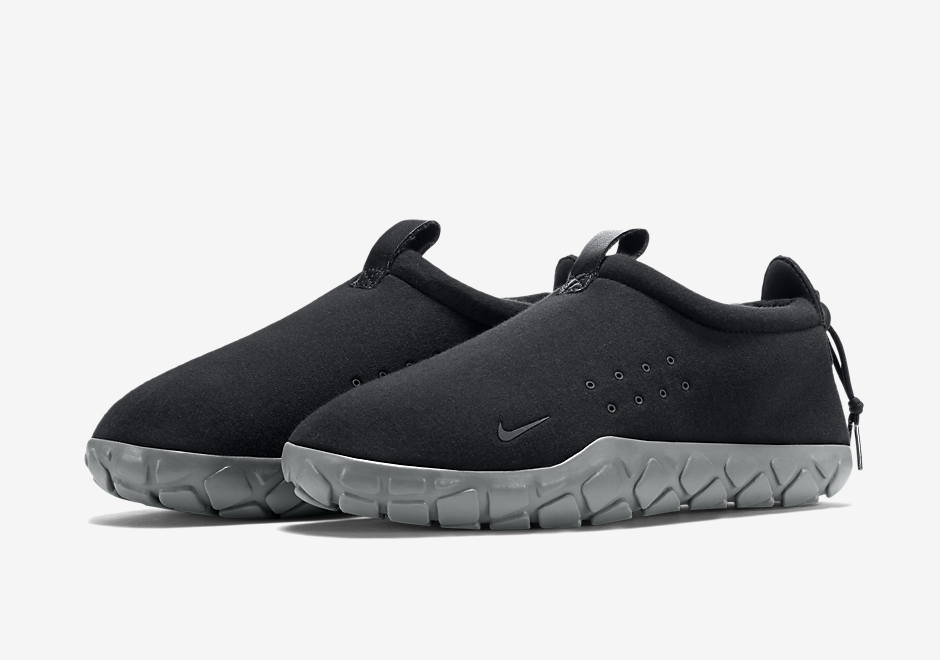 Nike s Classic Air Moc Gets Built With Tech Fleece - SneakerNews.com 5f72d8b4c39