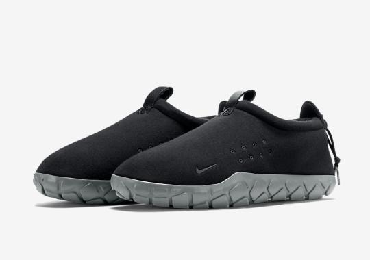 Nike's Classic Air Moc Gets Built With Tech Fleece