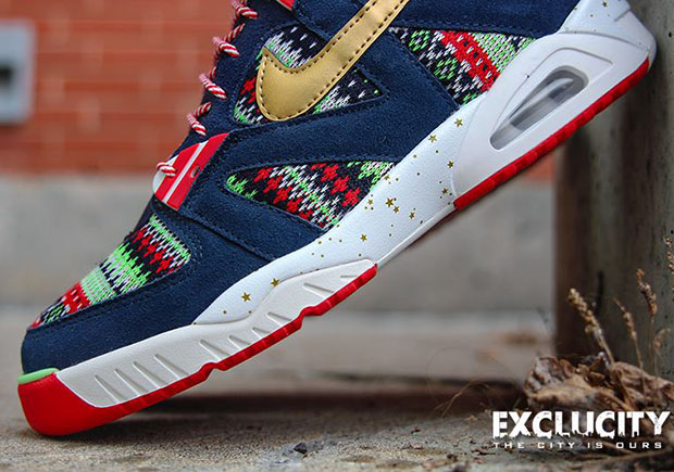 d38613fb15cd Nike Air Tech Challenge III QS. Color  Dark Obsidian Metallic Gold-University  Red Style Code  827822-400. Release Date  December 5th