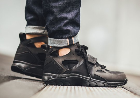 Here Are More All Black Huaraches For Your Enjoyment