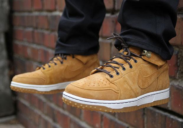 This Nike Wheat Dunk High Up Shoe With Another Sneaks In Beefed PkZiXu