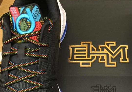 """First Look At The Nike KD 8 """"BHM"""""""