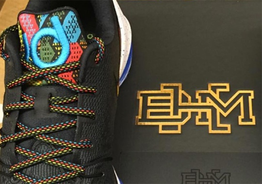 "First Look At The Nike KD 8 ""BHM"""