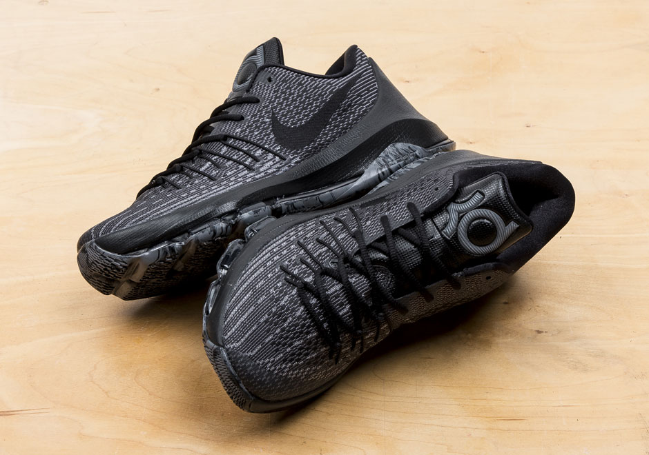 Nike KD 8 Blackout Release Info 749375