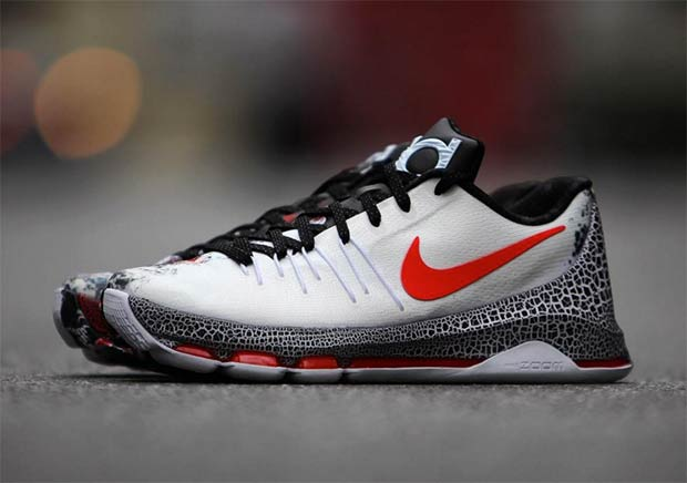 """00a0aea60b4 Kevin Durant Is Not Nice Again With The Nike KD 8 """"Christmas"""""""
