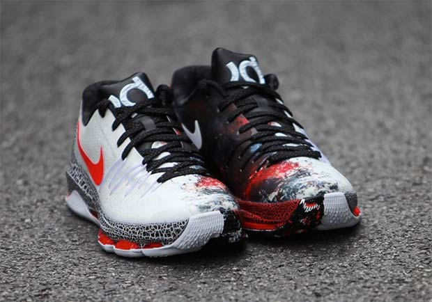 """48bc1cf0d6a4 Nike KD 8 """"Christmas"""". Color  White Black-Bright Crimson Style Code   822948-106. Release Date  December 26th"""