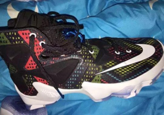 "Here's The Nike LeBron 13 ""Black History Month"""