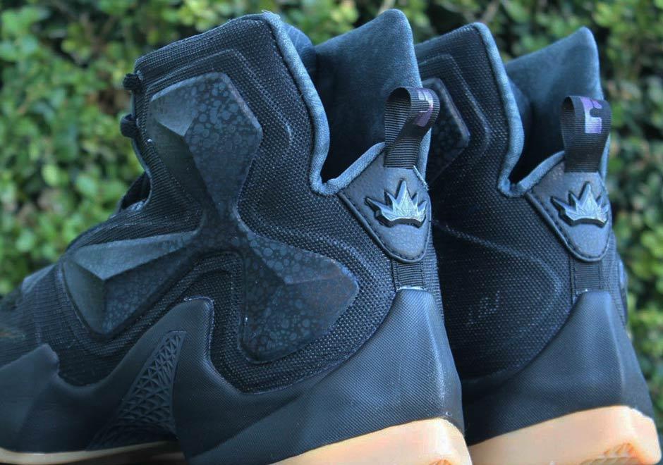 nike lebron 13 black blue