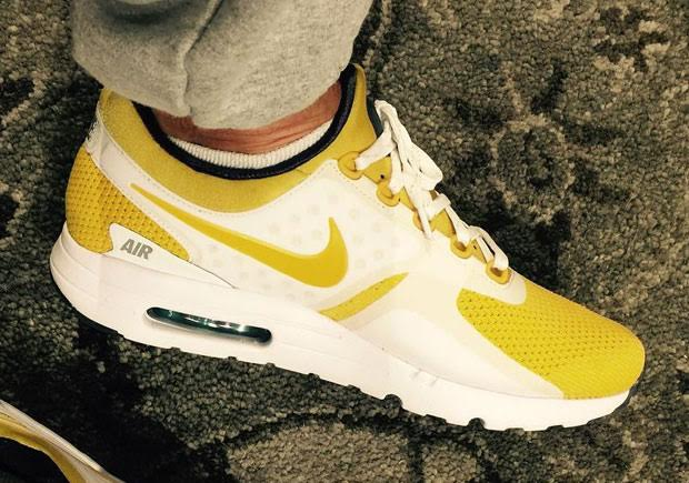 the best attitude d577f 68bda Air Max Zero Yellow Black   SneakerNews.com
