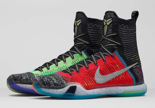 "Nike Is Officially Calling These The ""What The"" Kobe 10 Elite"