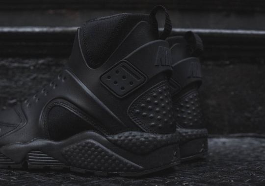 Nike's Most Outrageous Huarache Gets The All-Black Look