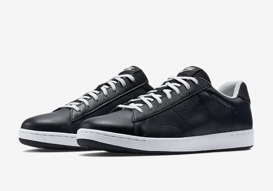 NikeCourt Brings Black Leather To The Tennis Classic Ultra