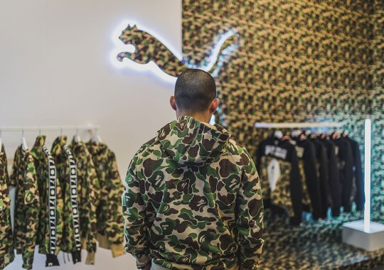 The BAPE x PUMA Pop-Up Shop By Packer Shoes Opens Friday At Midnight