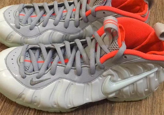 "In Other Yeezy News, These Nike Foamposites Went ""Pure Platinum"""