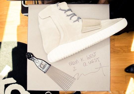 Take A Peek Inside Questlove's Sneaker Collection