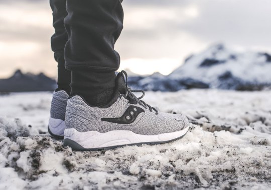 "Saucony Select's ""Dirty Snow"" Release Is Limited To 1,000 Pairs"