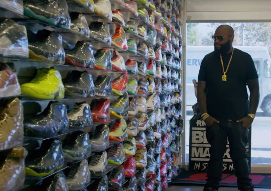 Rick Ross Says His Weight Loss Affected His Sneaker Style
