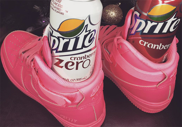 "Sprite Is Paying Sneaker ""Influencers"" To Post Ridiculous Photos Of Soda Cans In Shoes"
